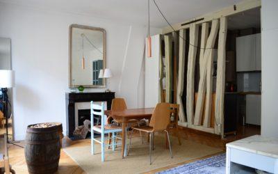 Appartement Paris 2 pièce(s) 49 m2 – QUARTIER DES BATIGNOLLES