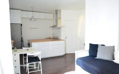 STUDIO MEUBLE RUE DES BATIGNOLLES – 75017 PARIS
