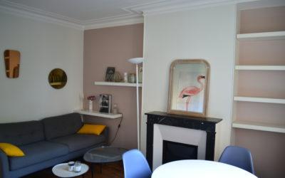 Appartement 3 Pièces MEUBLE – Quartier des Batignolles PARIS 75017